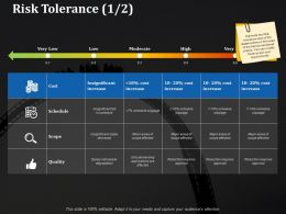 Risk Tolerance Ppt Portfolio Example Introduction