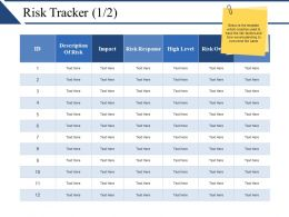 Risk Tracker Presentation Diagrams