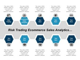 Risk Trading Ecommerce Sales Analytics Industrial Manufacturing Cpb