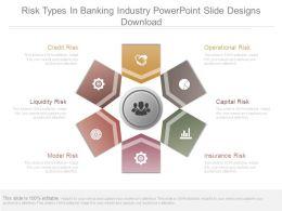 risk_types_in_banking_industry_powerpoint_slide_designs_download_Slide01