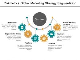 Riskmetrics Global Marketing Strategy Segmentation Criteria Highlight Learning Curve Cpb