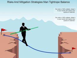 risks_and_mitigation_strategies_man_tightrope_balance_powerpoint_slide_inspiration_Slide01