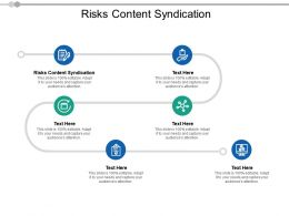 Risks Content Syndication Ppt Powerpoint Presentation Good Cpb