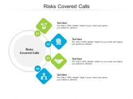 Risks Covered Calls Ppt Powerpoint Presentation Ideas Styles Cpb