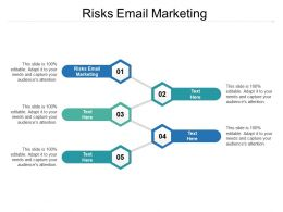 Risks Email Marketing Ppt Powerpoint Presentation File Slides Cpb