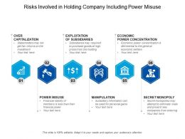 Risks Involved In Holding Company Including Power Misuse