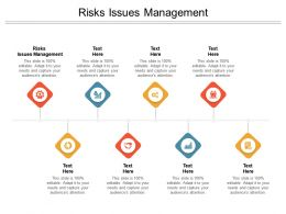 Risks Issues Management Ppt Powerpoint Presentation Infographics Cpb