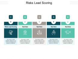 Risks Lead Scoring Ppt Powerpoint Presentation Summary Professional Cpb