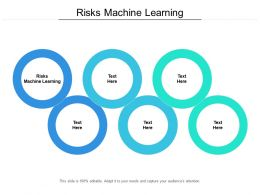 Risks Machine Learning Ppt Powerpoint Presentation Layouts Visuals Cpb