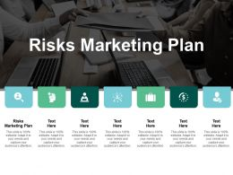 Risks Marketing Plan Ppt Powerpoint Presentation Infographic Template Show Cpb