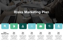 Risks Marketing Plan Ppt Powerpoint Presentation Summary Shapes Cpb