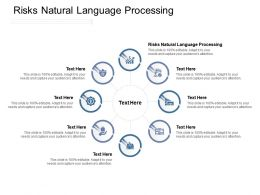 Risks Natural Language Processing Ppt Powerpoint Presentation Show Mockup Cpb