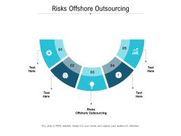 Risks Offshore Outsourcing Ppt Powerpoint Presentation Outline Clipart Images Cpb