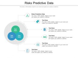 Risks Predictive Data Ppt Powerpoint Presentation Infographic Template Graphics Cpb
