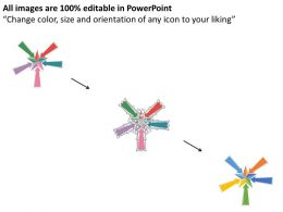 rk_five_business_arrows_with_star_center_flat_powerpoint_design_Slide02