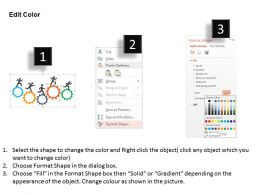 31362222 Style Variety 1 Gears 5 Piece Powerpoint Presentation Diagram Infographic Slide