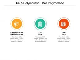 RNA Polymerase DNA Polymerase Ppt Powerpoint Presentation Infographics Introduction Cpb