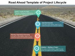 Road Ahead Diagram Of Business Lifecycle