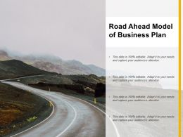 Road Ahead Model Of Business Plan