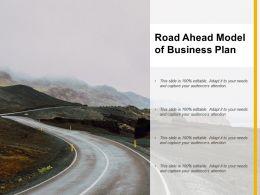 Road Ahead Model Of Business Plan