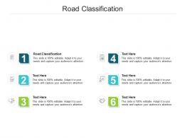 Road Classification Ppt Powerpoint Presentation Summary Show Cpb
