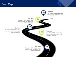 Road Map Attention M1480 Ppt Powerpoint Presentation Icon Shapes