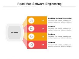 Road Map Software Engineering Ppt Powerpoint Presentation Outline Infographic Template Cpb