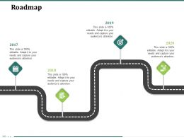 Roadmap 2017 To 2020 N300 Ppt Powerpoint Presentation Lists