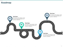 Roadmap Audiences Attention Communication Planning Ppt Presentation Examples