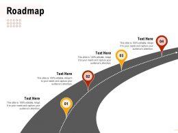 Roadmap Audiences Attention Deployment Ppt Powerpoint Presentation Inspiration
