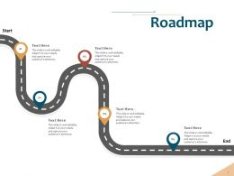 Roadmap Audiences Attention Implementing Risk Ppt Powerpoint Presentation Icon