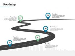 Roadmap Bank Operations Transformation Ppt Show