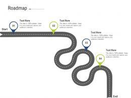Roadmap Brand Upgradation Ppt Template