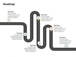 Roadmap Capture Corporate Performance Management Ppt Presentation Show