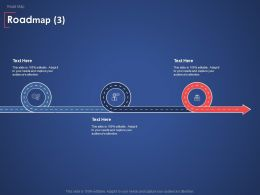 Roadmap Communication Management Ppt Powerpoint Presentation Model Diagrams