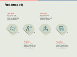 Roadmap Communication Technology Ppt Powerpoint Presentation Introduction