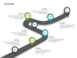Roadmap Construction Industry Business Plan Investment Ppt Icons