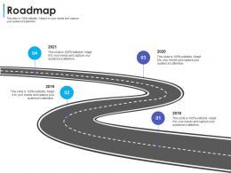 Roadmap Convertible Debt Financing Ppt Microsoft