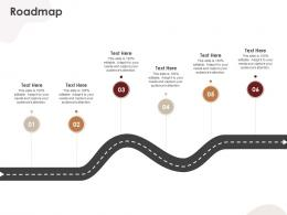 Roadmap CRM Application Ppt Guidelines
