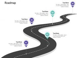 Roadmap Customer Relationship Management Process Ppt Professional