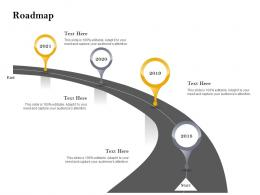 Roadmap Customer Retention And Engagement Planning Ppt Powerpoint Ideas