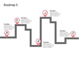 Roadmap Dollars Ppt Powerpoint Presentation Pictures Demonstration