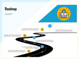Roadmap Editable M877 Ppt Powerpoint Presentation Layouts Icon