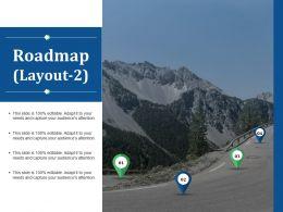 70853391 Style Essentials 1 Roadmap 4 Piece Powerpoint Presentation Diagram Infographic Slide