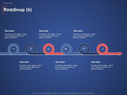 Roadmap Finance Marketing Ppt Powerpoint Presentation Inspiration Brochure