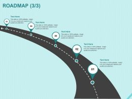 Roadmap Five Process C1214 Ppt Powerpoint Presentation Summary Outline