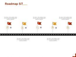 Roadmap Five Process C1266 Ppt Powerpoint Presentation Layouts Design Ideas