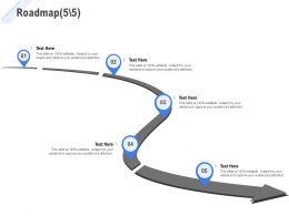 Roadmap Five Stage L1078 Ppt Powerpoint Presentation Summary Icons