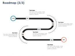 Roadmap Five Stage L1085 Ppt Powerpoint Presentation Infographics