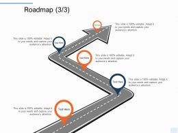 Roadmap Five Stage L1217 Ppt Powerpoint Presentation Professional Diagrams